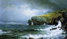 William Trost Richards Ocean Art | William Trost Richards