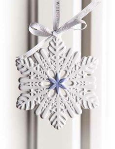 Wedgwood 2013 Figural Snowflake Ornament