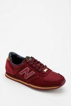 New Balance X Herschel Supply 420 Running Sneaker in maroon