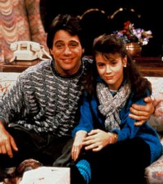 TV Dads We Love Who's the Boss? I wanted to name my daughter Samantha because of this show! 80 Tv Shows, Great Tv Shows, Movies And Tv Shows, Alyssa Milano, Father's Day Games, Boss Tv, Imagine Song, Playboy, Tony Danza
