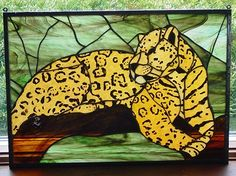 "2007 Small Panels 2nd. Place ""Jaguar"" by Ellen"