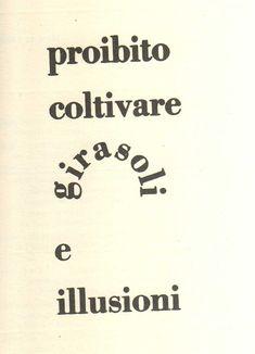 Carlo Belloli, da Tavole visuali