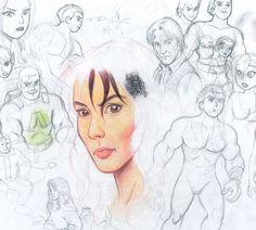 Blog do desenhista brasileiro Jean Okada