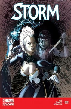 Storm (2014-) #2 Storm is on a mission to use her extraordinary powers for the betterment of not just mutantkind, but the entire world. When wayward youth start disappearing from the streets of New York, Storm is reminded of her past as a thief and decides to investigate. But little does she suspect that the culprit behind the disappearances is one of her oldest foes, Callisto!