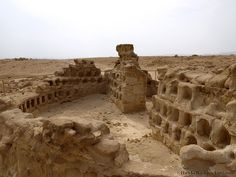 Masada Columbarium. Each niche would hold an urn with ashes of the dead.