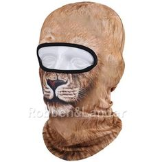 New 3D Animal Balaclava Hunting Outdoor Halloween Party Paintball Sport Hats Motorcycle Skiing Cycling Protection Full Face Mask