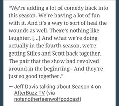 Teen Wolf Season 4 Yes! I love Void Stiles, but I really miss the funny Stiles.