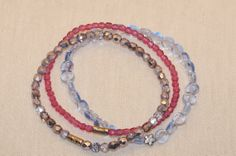 Handmade Jewelry - Frosted Berry Mix