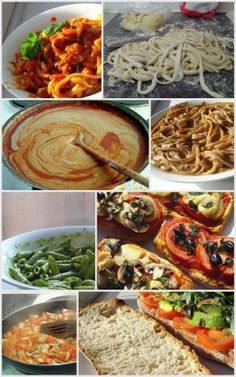 Vegan alternatives to Italian food