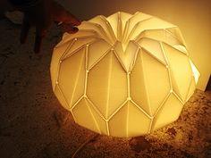 Pumpkin lamp by Karin Bartel