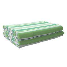 Langshan Sheet Set featuring Beach Cabana Stripe 5 by fleamarkettrixie Beach Cabana, Striped Bedding, Top Stitching, Flat Sheets, Bed Design, Sheet Sets, Spoonflower, Color Pop