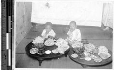 First birthday celebration, Peng Yang, Korea, ca. 1920-1940 :: International Mission Photography Archive, Maryknoll