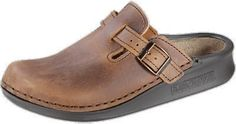 Tatami Oklahoma Clogs Leather, Antique Brown, With A Narrow Insole TATAMI. $101.19. leather