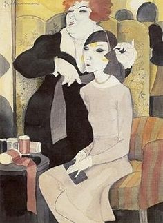 Der Neue Hut (1929) femmes artistes peintres women artists painters : 1890 Mammen Jeanne