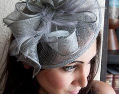 Fascinator negro  Penny malla sombrero fascinador por PippaAndPearl