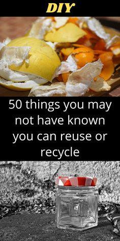 Survival Life Hacks, Survival Gear, Survival Skills, Household Chores, Diy Hacks, Spring Cleaning, Reuse, Cooking Recipes, Reduce Waste