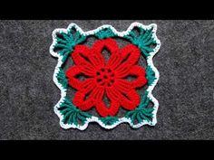 Красивый рождественский квадратный мотив - YouTube