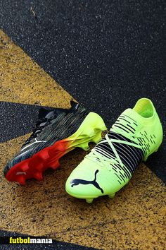 Soccer Boots, Football Boots, Barcelona, Sneakers, Soccer, Yellow, Red, Black, Sports