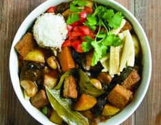 Meatless Monday: Tofu and Potato Adobo Stew