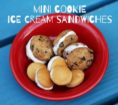 I admit it – we've been indulging in some delicious treats so far this summer. Strawberry shortcake, a marshmallow roast and s'mores bar, and now these tasty cookie and ice cream morsels. My girls were quite smitten with these cute... Continue Reading →