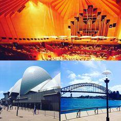Beautiful Sydney with iconic symbols the world recognizes including @sydneyoperahouse #sydneyharbour #sydneyharbourbridge #sydney #travel #cruise #exploration #traveling #discover #azamara by larrypimentel http://ift.tt/1NRMbNv