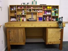wooden reloading bench plans - Google Search