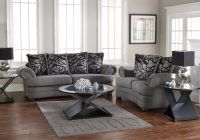 this one is coolest decoration with cool grey sofa..