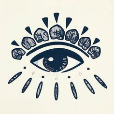 1000+ images about Kenzo & Eyes on Pinterest | Triangle eye, Third ...