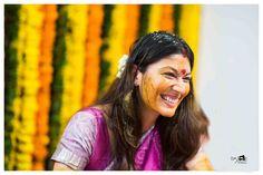 Manchu Pranathi Manoj - BK Photography - Pelli kuthuru function. Haldi ki rasm