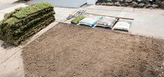 Want to give your yard the star treatment? Try laying some brand-spanking new turf! How To Lay Turf, Diy Home Cleaning, Top Soil, Environmental Health, Brick Patterns, Gardening Gloves, Garden Hose, Clean House