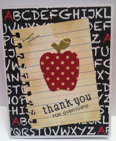 Teacher Thank-You Card