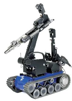Robot with Powerful Arm Powered by DC Micromotors