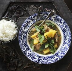 Thai Red Curry Pork with Pineapple and Ginger
