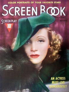 Marlene Dietrich. Screen Book, 1937