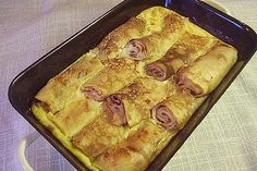 Topfenpalatschinken Wiener Art von picard66   Chefkoch.de French Toast, Pie, Breakfast, Desserts, Food, Souffle Dish, Popular Recipes, Food Portions, Food Food