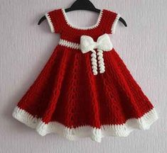 Free crochet patterns for baby items for the new year 2019 – Page 17 of 50 – Crochet … - Baby Dress Crochet Baby Dress Pattern, Baby Girl Crochet, Crochet Baby Clothes, Crochet Baby Hats, Crochet For Kids, Baby Blanket Crochet, Baby Knitting, Free Knitting, Crochet Baby Stuff