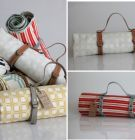 """Twine fabrics are all about this """"green earth"""", because they're all screenprinted onto organic cottons and linens Picnic In The Park, Picnic Time, Elle Decor, Twine, Picnic Blanket, Screen Printing, Print Patterns, Kids Room, Two By Two"""