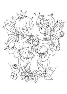 coloring page Precious moments on Kids-n-Fun. Coloring pages of Precious moments on Kids-n-Fun. More than coloring pages. At Kids-n-Fun you will always find the nicest coloring pages first! Fairy Coloring Pages, Cool Coloring Pages, Free Printable Coloring Pages, Adult Coloring Pages, Coloring Pages For Kids, Coloring Sheets, Coloring Books, Kids Colouring, Precious Moments Coloring Pages
