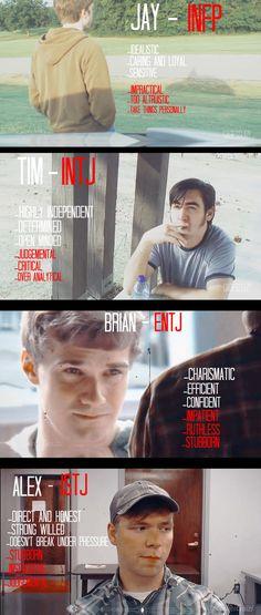 Marble Hornets as Myer-Briggs Personalities Types by Gabrielle3Richtofen