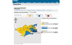 O 1º turno na cidade do Rio de Janeiro, zona a zona (ESP_1003)