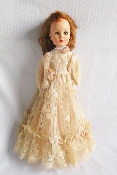 Please like my Facebook Page http://www.facebook.com/MyVintageHatShop for exclusive discounts and promotions.    Sweet Sue doll from the late