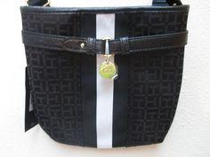 Bag Tommy Hilfiger Handbags Sm XBody 6932238 990 Color Black Beige Gold #TommyHilfiger #MessengerCrossBody