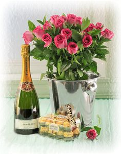 Holiday Party Discover bucket of flowers Birthday Quotes Birthday Wishes Birthday Cards Happy Birthday Beautiful Gif Beautiful Roses Wine Bottle Images Moet Chandon Love Rose Birthday Songs, Birthday Quotes, Birthday Wishes, Birthday Cards, Beautiful Gif, Beautiful Roses, Love Rose, Love Flowers, Wine Bottle Images