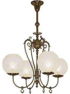 """Savannah 4 Light Chandelier With 4"""" Fitters 