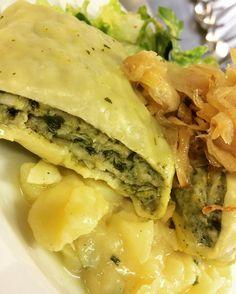 #bärlauch #maultaschen #kartoffelsalat #aufdiehand #aufdenteller #live