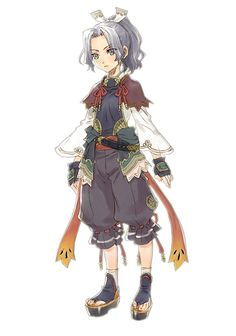 Mikoto from Rune Factory: Tides of Destiny