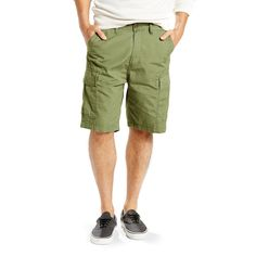 Big & Tall Levi's Carrier Cargo Shorts, Green