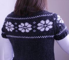 Hand knit womens sweater by moocowhandknits on Etsy, $82.00