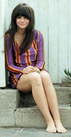 """mini dress Linda Ronstadt 1967 """"Different Drum"""""""