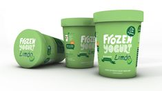 Frozen Yogurt - The Dieline -